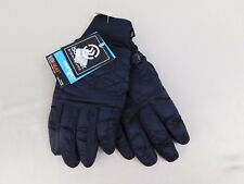 Isotoner SmarTouch Sleek Heat Packable Touch Screen Ski Tech Gloves L/XL #6041