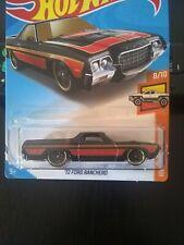 Hot Wheels - '72 Ford Ranchero - Black - Hw Hot Trucks #8/10 - #29
