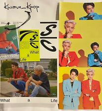EXO-SC [WHAT A LIFE] 1ST MINI ALBUM KPOP BRAND NEW UNSEALED NO PHOTO CARD