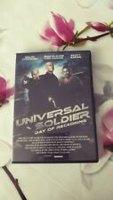 dvd film action UNIVERSAL SOLDIER day of reckoning jean claude vandamme