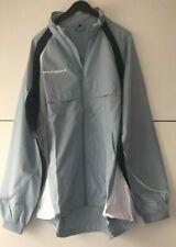 AIRTRACKS Functional Water Resistant Running Jacket / Light Blue Size Medium