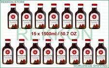 Organic 15 x 100ml 10 OZ Burdock Oil with Red Pepper Stimulates Hair Growth FrSh