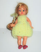 Small Vintage/Antique Celluloid or plastic Doll  sleep eye