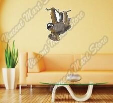 "Three-Toed Sloth Bradypus Animal Wall Sticker Room Interior Decor 20""X25"""