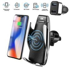 Automatic Clamping Wireless Car Charger Mount, Car Charger Holder for iPhone All