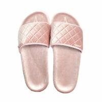 Slydes Womens Boudoir Slider Sandals In Pink