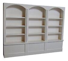 Large White Shop Shelves, Doll House, Pub, Shop Unit  Miniature 1.12th Scale