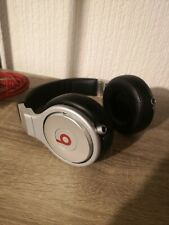 Monster Beats By Dr Dre Pro Silver Black Studio Headphones