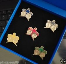 2008 BEIJING OLYMPIC PARTNER CHINA MOBILE CHINESE KITES PIN SET 5 PINS