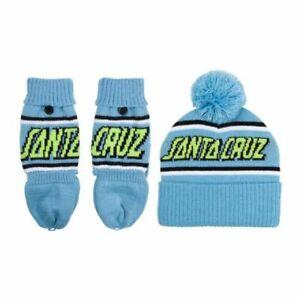 SANTA CRUZ - Strip Beanie & Mittens - Skateboard / Snowboard / Surf Hat