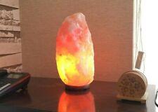 Himalayan Natural Salt Lamp Rock Crystal Pink Night Desk Healing Ionizing 4-6 Kg