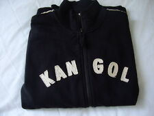Retro style Kangol Sweater  zipper front size XL  Used