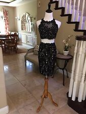 $318 NWT TWO PIECE JVN BY JOVANI HOMECOMING/COCKTAIL/PAGEANT/PROM DRESS #31863 6