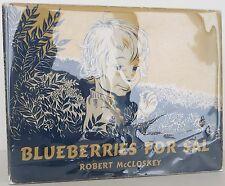 ROBERT MCCLOSKEY Blueberries for Sal FIRST EDITION