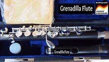 Piccolo Flute Ebony Wood Silver Keys  Handmade Piccolo neuve avec etui