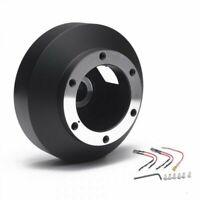 Short Steering Wheel Hub Adapter Boss Kit Subaru Impreza WRX STI Forester 08-14