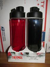 2-Pack Genuine Thermos Brand 24oz Hydration Bottle - BPA Free