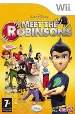 Disney Meet The Robinsons Nintendo WII Video Game Original UK Release