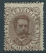 1889 REGNO UMBERTO I EFFIGIE 40 CENT MNH ** - RR13710