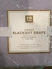 "Pottery Barn Teen Ombre Lavender Panels Window Drape 63"" Blackout NEW"