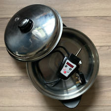 Saladmaster 12 in Electric Oil Core Skillet - Newest Version