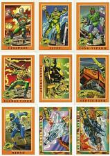 G.I. Joe Series 1 Full 200 Card Trading Card Base Set from Impel 1991