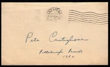1950 Pete Castiglione Pittsburgh Pirates VINTAGE GOVERNMENT POSTCARD GPC SIGNED