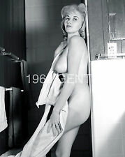 1960s 8X10 NUDE PHOTO OF BIG BREASTS/ NIPPLES MARSHA JORDAN FROM ORIGINAL NEG-18