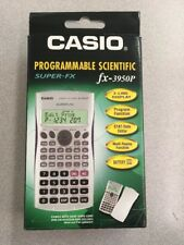 NEW Casio FX-3950P Programmable Scientific SUPER-FX Calculator 2-Line DOT-MATRIX