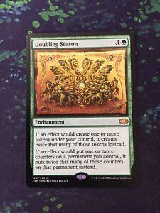 MTG, Doubling Season. Double Masters Mythic Rare NM