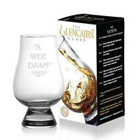 "Glencairn Whisky Glass "" A Wee Dram"" Made in Scotland Whiskey Tasting 1 2"
