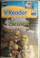 VTech - V.Reader Software - Dreamworks Shrek, Shrek's Vacation by VTech New!