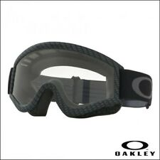 Maschera Occhiali Cross Oakley L-frame MX Matte Black Clear