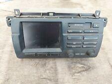 Bmw E46 tape player screen monitor 65.52-8 384 598 player b
