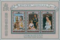 Cook Islands Penrhyn 1977 SG103 Silver Jubilee MS MNH