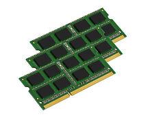 NEW 6GB (3x2GB) Memory PC3L-12800 SODIMM For Laptop DDR3L-1600 RAM