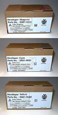 Ricoh Developer Set CMY D081-9660/70/80, für Aficio MP C 6501 / 7501