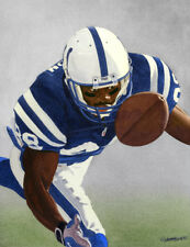 MARVIN HARRISON COLTS ORGINAL PAINTING