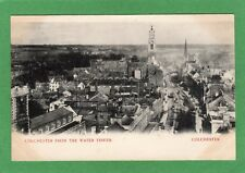 Colchester from Water Tower early pc 1902 210 duplex postmark Ref K455