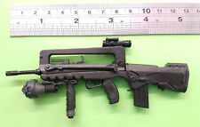 1/6 Scale French army FAMAS F1 rifle custom toy gun weapon for 12 inch figure