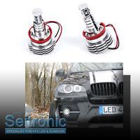 H8 LED Angel Eyes für BMW E60 E61 E71 LCI Z4 E89 X6 E71 E92 E90 uvm STANDLICHT
