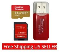 SanDisk Extreme 64GB micro SD Memory Card for Smartphones & GoPro Cameras