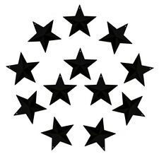 3-Inch Mini Metal Barn Star Country Crafts, Home and Garden Decoration Set of 12