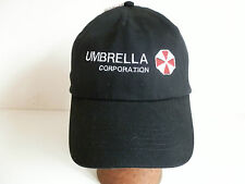 Resident EVIL, Umbrella Corporation, ricamato su nero, calotta, NUOVO