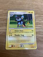 Luxio - Pokemon Card - Diamond Pearl Promo 52/130 - Non-Holo STAMPED - NM