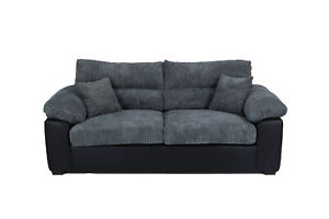 2 Seater SOFA AMEBA GREY Brand New HIGH QUALITY FREE DELIVERY