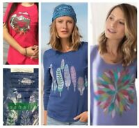 3-CT LOT Sahalie Women's Saturday Market Tee Shirts Tops Boho T-Shirts NWT MED