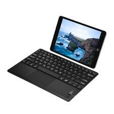 Tastatur Bluetooth mit Touchpad Keyboard für Windows PC Android Phone Tablet