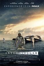 "Interstellar 2014 Movie Silk Fabric Cloth Art Poster 36 x 24"" I02"