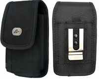 Vertical Rugged Holster FOR TracFone LG Phones fits w/ Dual Layer Case